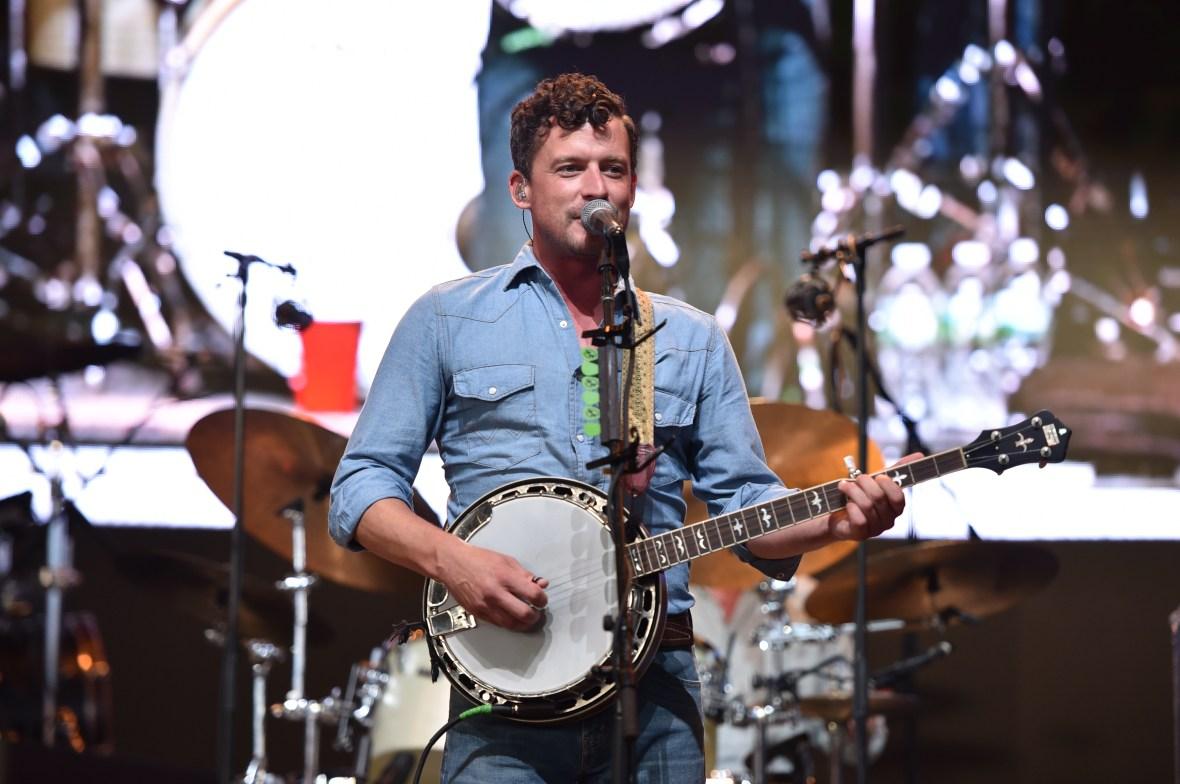 evan felker performing on stage