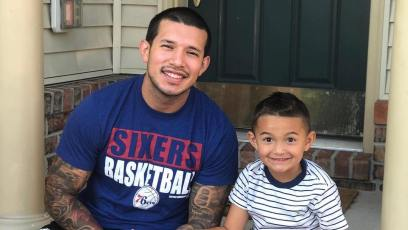 Javi Marroquin And Son Lincoln
