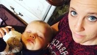 Jill Duggar With Son Samuel