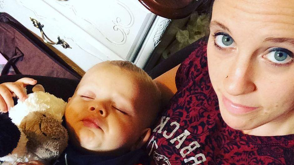 Jill Duggar With Son Samuel