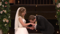 John David Duggar Kisses Abbie Burnett's Hand