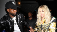 Khloé Kardashian And Tristan Thompson Holding Hands And Walking