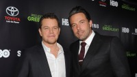 Matt Damon and Ben Affleck at an event together in LA