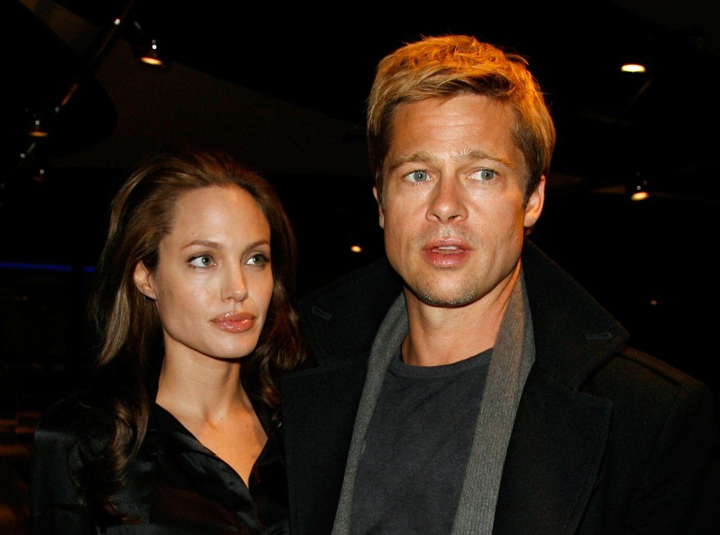 Brad and Angelina at an event