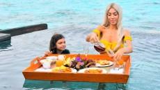 Farrah-Abraham-Sophia-Floating-Breakfast