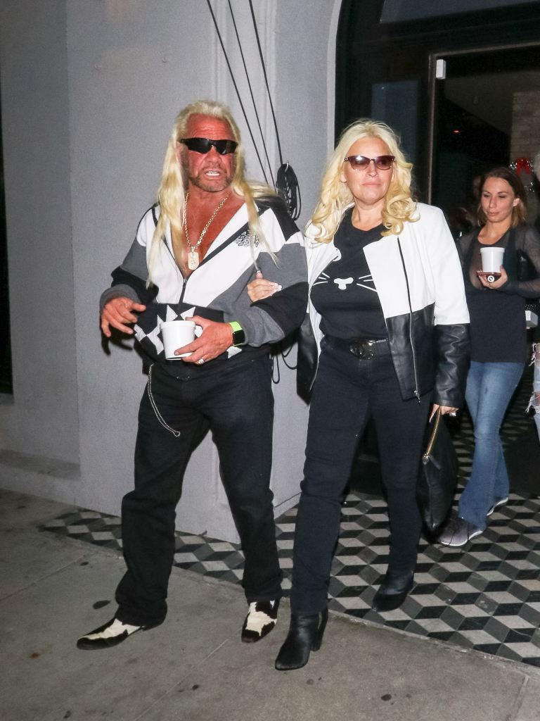 Beth Chapman and Duane Chapman together in LA