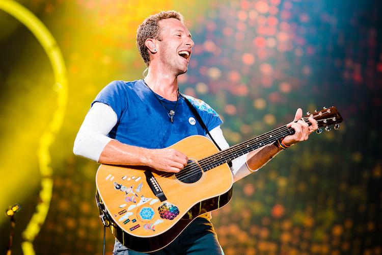 Chris Martin Coldplay Allianz Parque