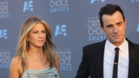 Jennifer Aniston and Justin Theroux at an event