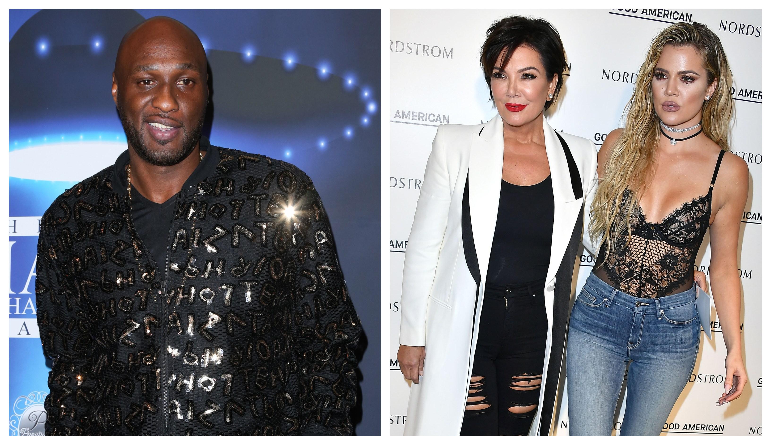 Lamar Odom, Kris Jenner, Khloe Kardashian
