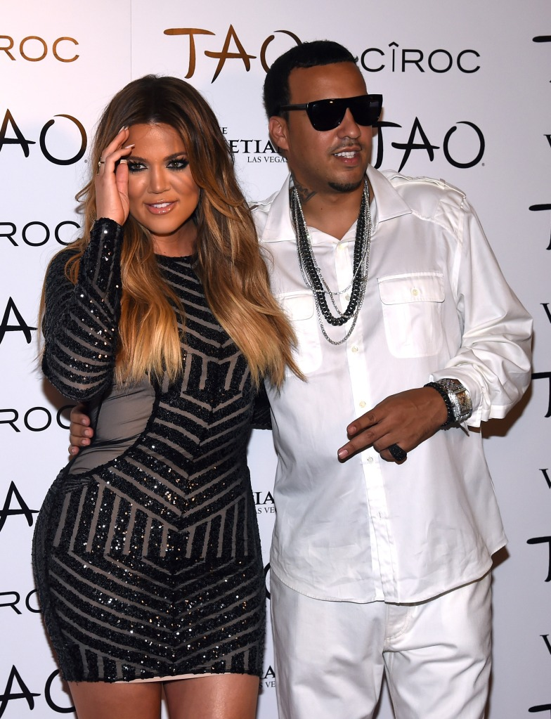 Khloe and French at an event in Las Vegas