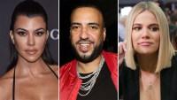 Kourtney Kardashian Kourtney Kardashian French Montana Flirting