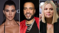 Kourtney Kardashian Kourtney Kardashian French Montana Flirting