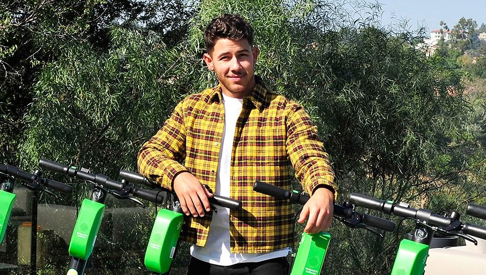 Nick Jonas custom scooters