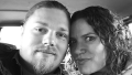 Noah Brown and wife Rhani taking a selfie