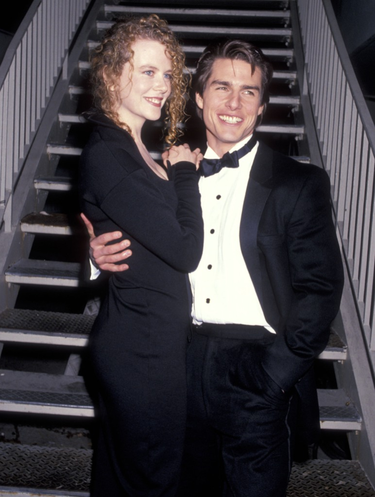 Tom Cruise and Nicole Kidman at an event together