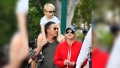 Anna Faris, Son Jack, and Boyfriend Michael Barrett at Disneyland