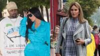 Left: Kanye West And Kim Kardashian; Right: Caitlyn Jenner