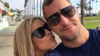 Christina El Moussa Kisses Boyfriend Ant Anstead's Cheek