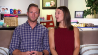 Danielle Talking While Looking At Adam Busby On 'OutDaughtered'