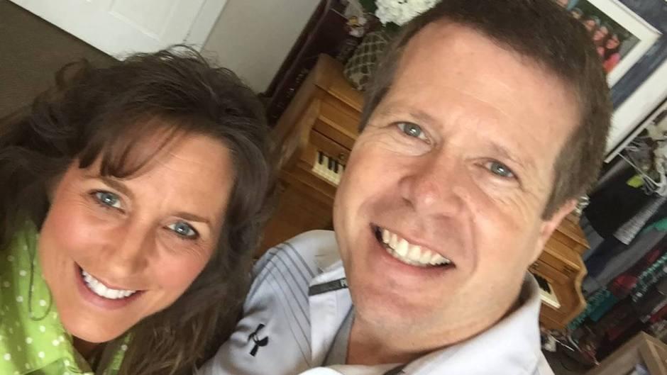 Jim Bob and Michelle Duggar Smiling In Selfie