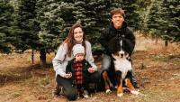 Jackson Roloff And Family Pick Christmas Tree