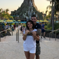 Javi Marroquin And Lauren Comeau On Vacation