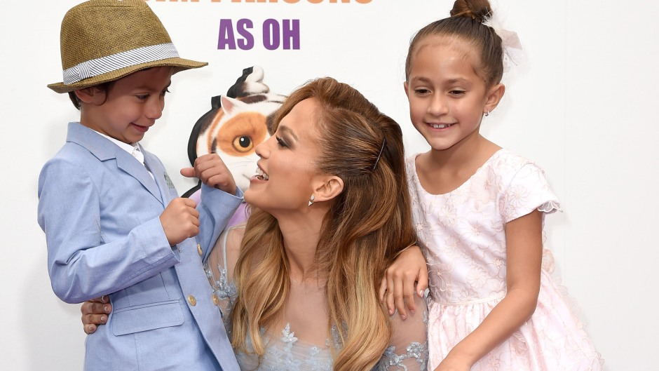 Jennifer Lopez And Her Twins Max And Emme in 2015