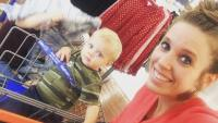 Jill Duggar And Son Sam At Walmart