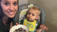 Jill Duggar Cooks For Son Sam