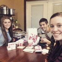 Jill Duggar, Joy, And Derick Dillard Eat Chick-Fil-A