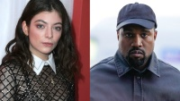 Lorde and Kanye West side by side