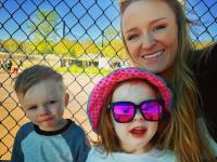 Maci Bookout And Son And Daughter
