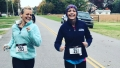 Mackenzie McKee And Mom Angie Douthit Running A Race