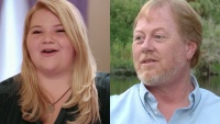 nicole and her dad from 90 day fiance side by side