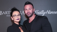JWoww and roger Mathews wearing all black