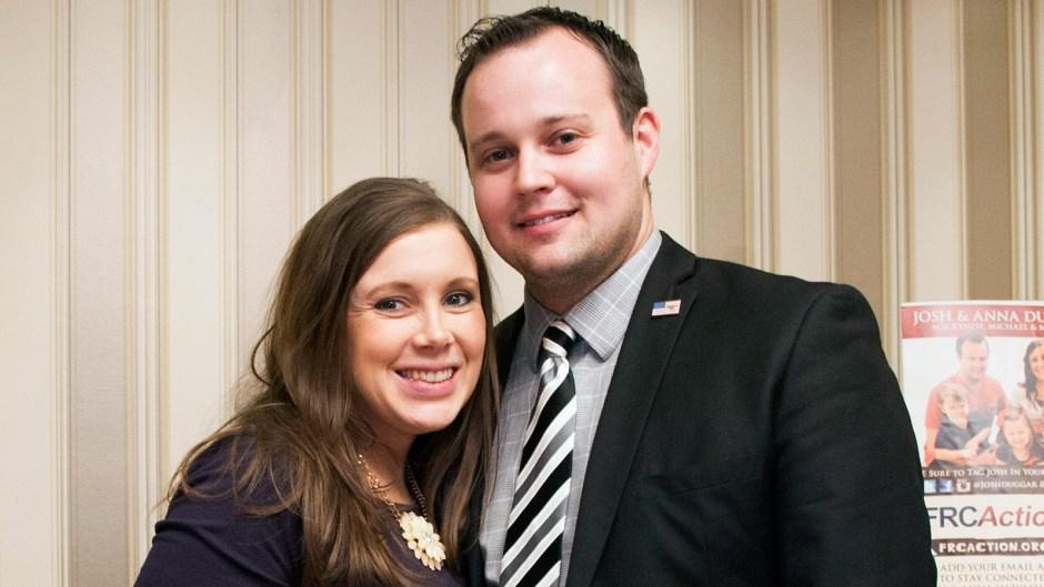 Josh Duggar and Anna Duggar