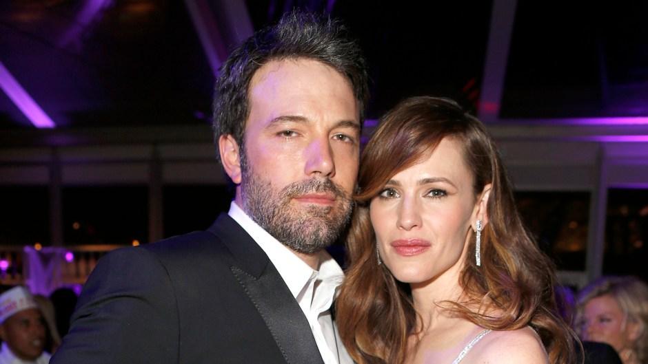 Ben Affleck winces Jen's new man