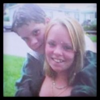 Catelynn Lowell and Tyler Baltierra Hugging In 2005