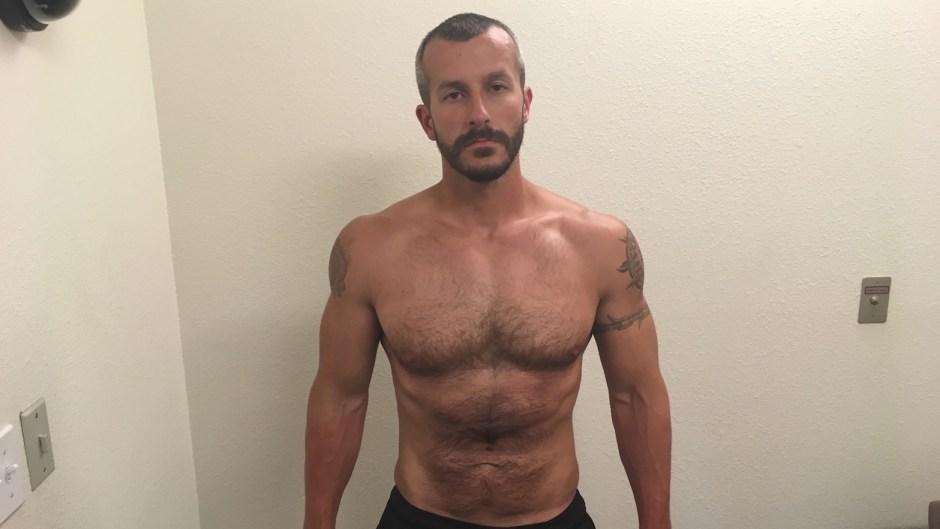 Chris Watts strip search
