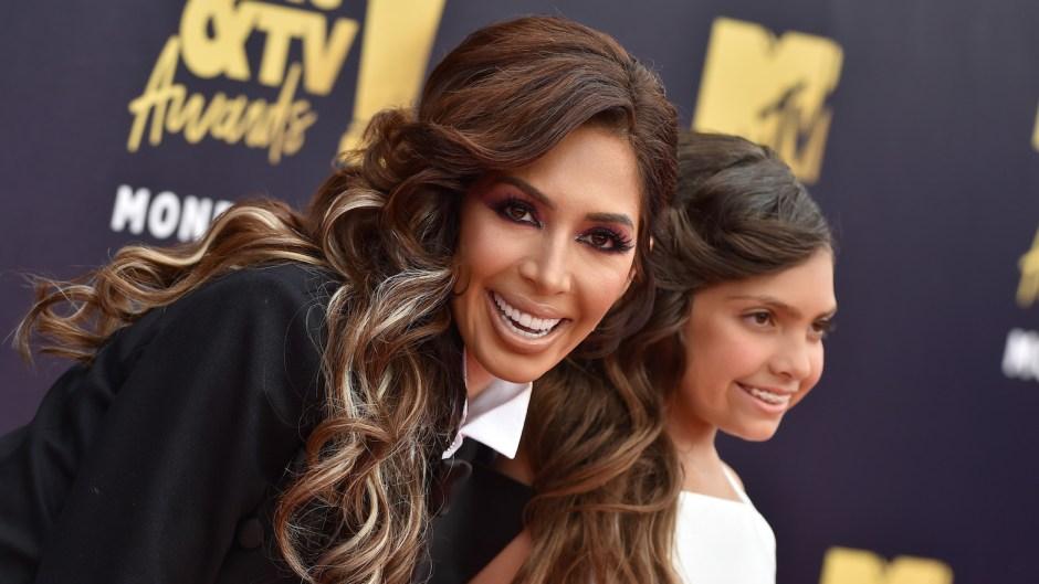 Farrah Abraham slammed for letting Sophia wear makeup