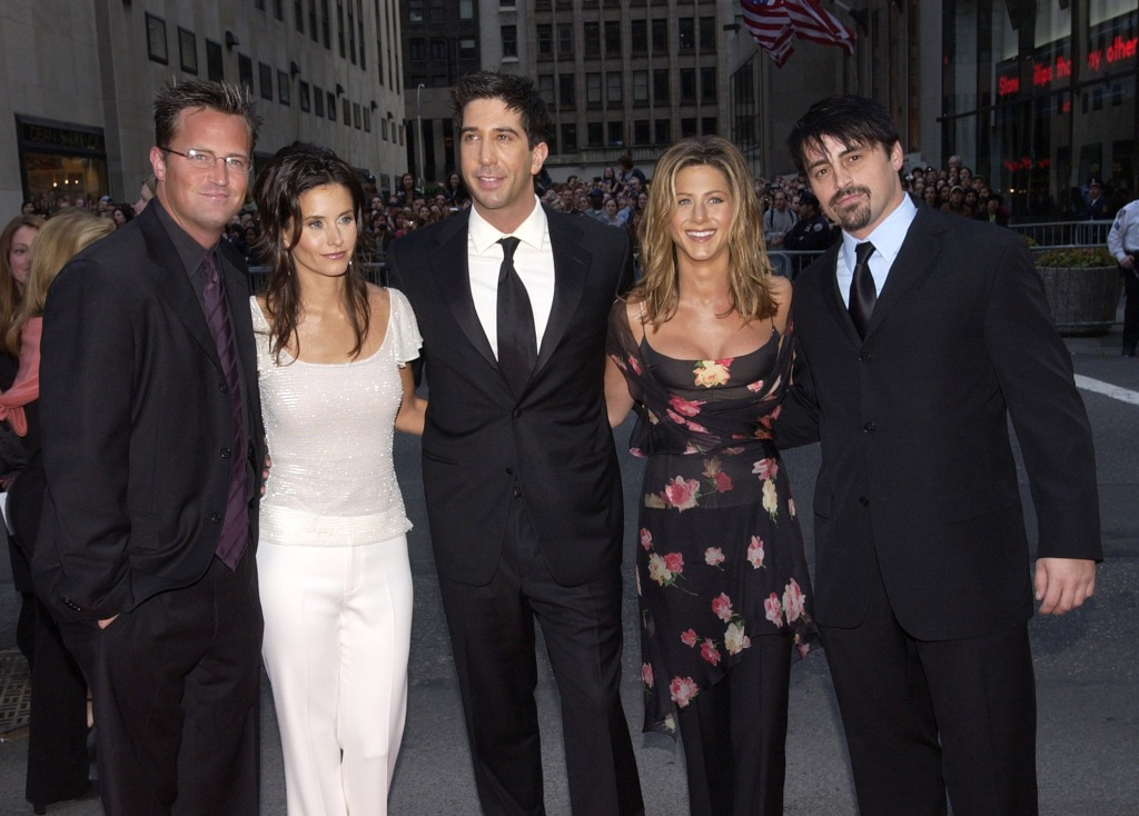Friends NBC 75th Anniversary