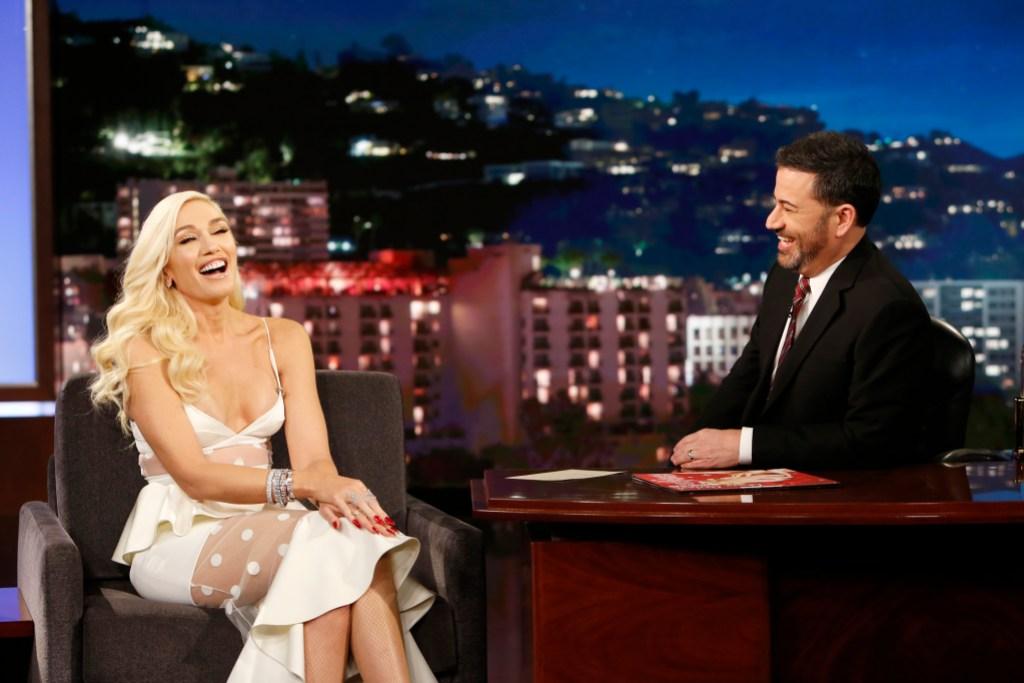 Gwen Stefani Jimmy Kimmel Live