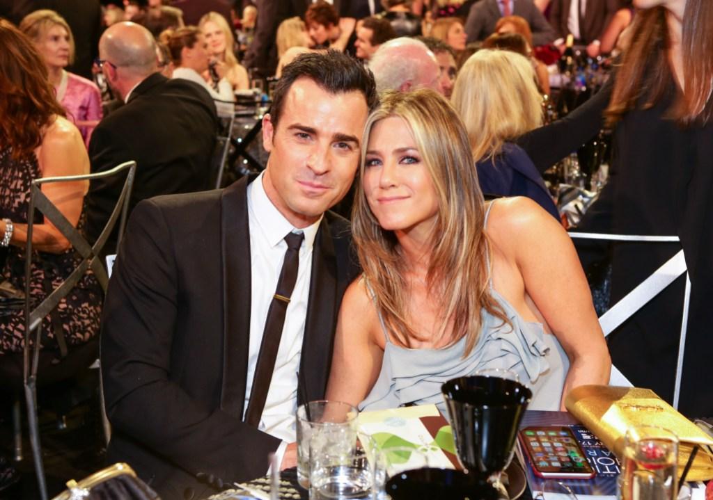 Jennifer Aniston Justin Theroux 21st Annual Critics' Choice Awards