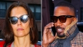 Jamie Foxx Katie Holmes celebrating birthday Serendipity