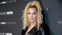 Khloe Kardashian at Card B's Fashion Nova Launch Party