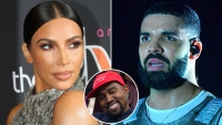 Kim Kardashian Drake Kanye