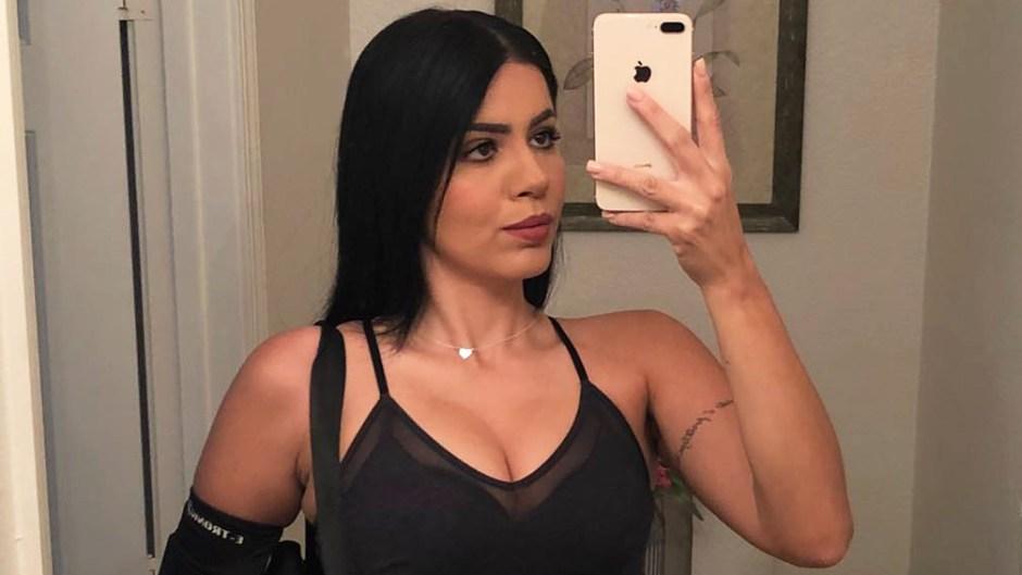 Larissa Lima Takes Selfie In Mirror