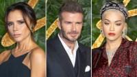 Victoria Beckham Turns Back David Beckham Rita ora