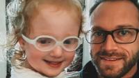 adam and hazel busby wearing glasses
