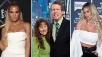 Side-By-Side of Khloe Kardashian, Michelle and Jim Bob Duggar, and Kim Zolciak
